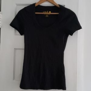 Womans Lole black tshirt